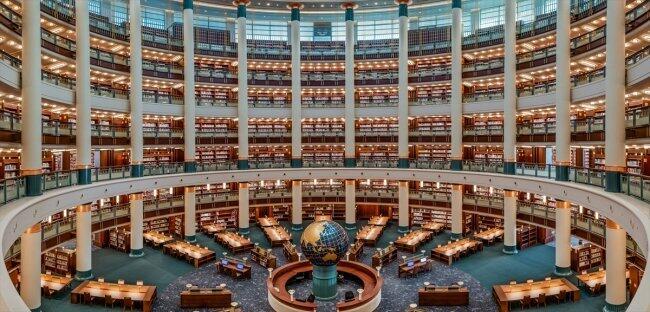 المكتبة الوطنية التركية