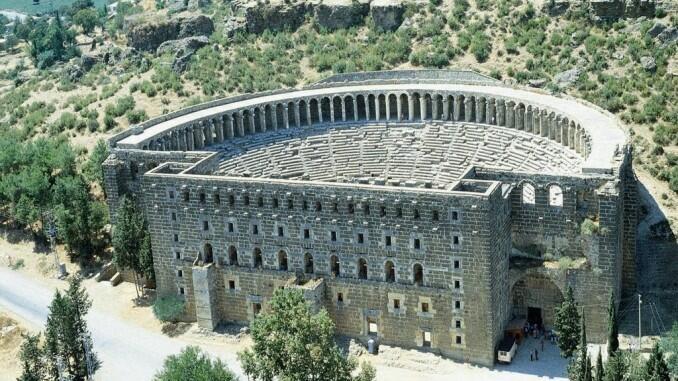 الجنوب التركي يزخر بالآثار الإغريقية
